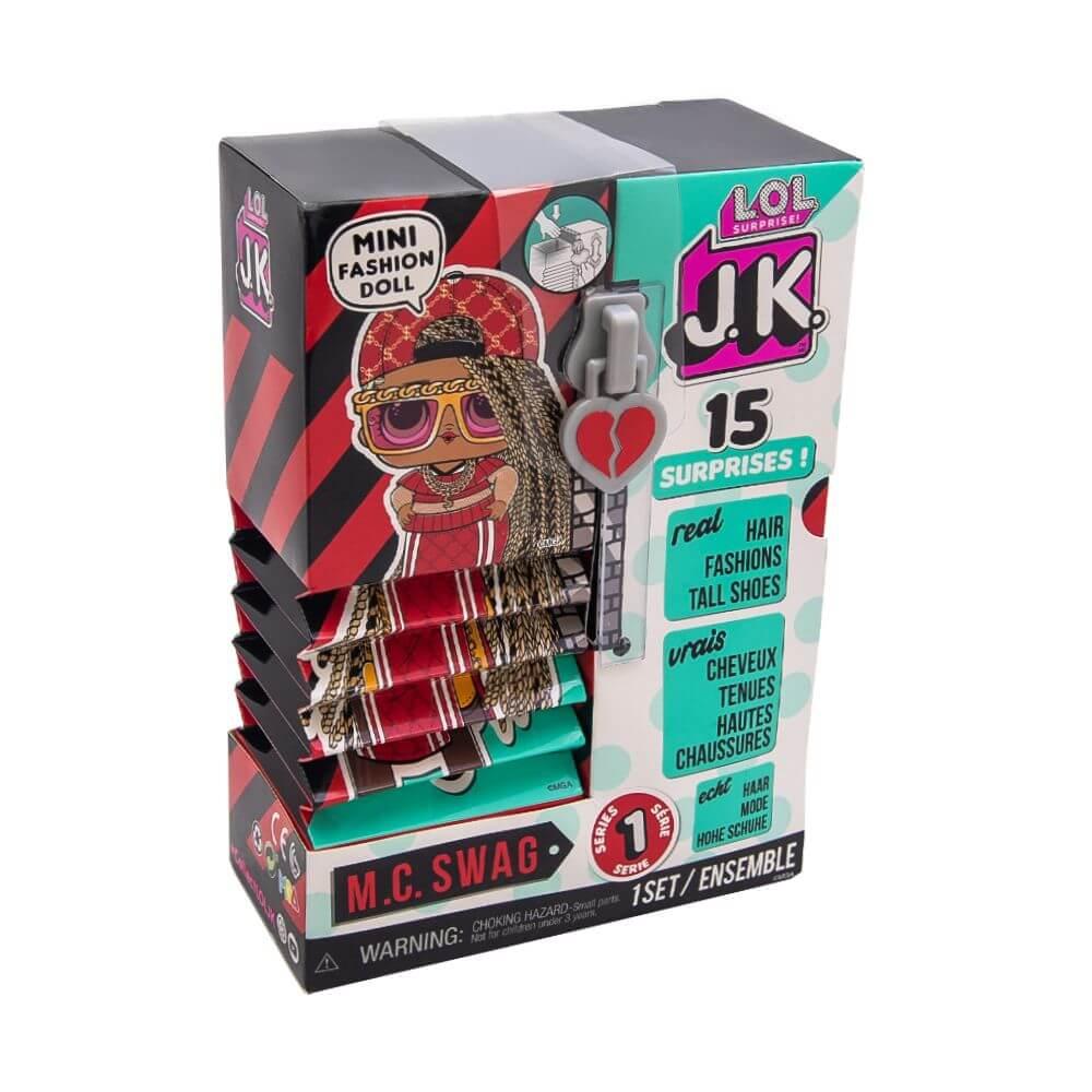 Кукла LOL Surprise Mini Fashion Doll (Мини модницы) JK M.C. Swag с 15 сюрпризами - 2