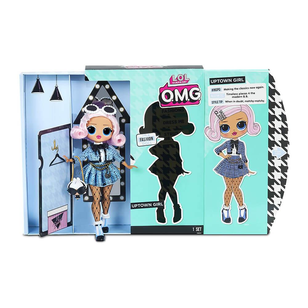 Большая кукла LOL Surprise OMG2 Uptown Girl с 20 сюрпризами (2 серия) - 3
